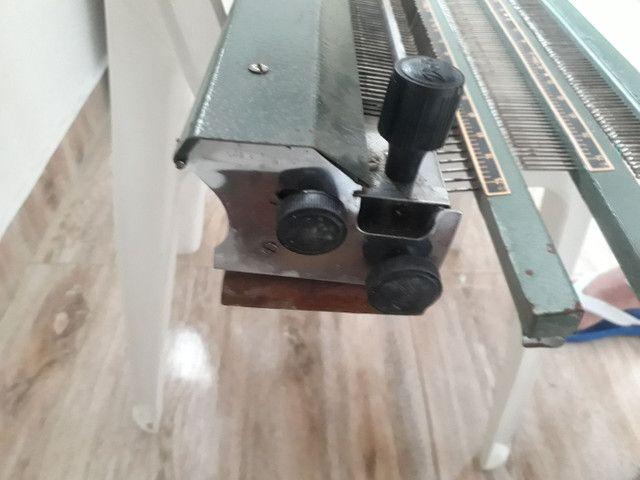 Máquina de tricô manual  - Foto 5