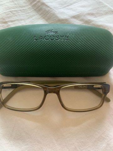 Óculos Lacoste esverdeado - Foto 3