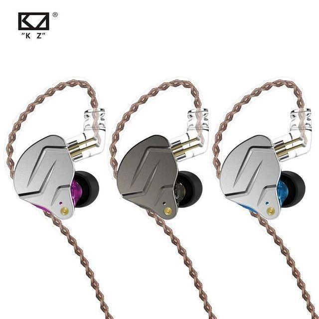Fone KZ ZSN Pro Dual Drive Monitor  - Foto 4