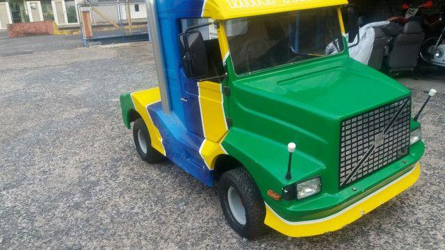 Mini truck a gasolina