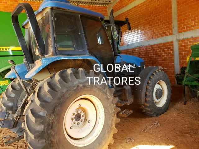 Oferta!!! Trator New Holland TM 120 - Foto 3