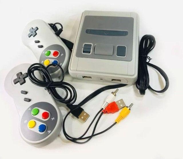Super Mini Videogame Jogos Classicos 8bits 620 Jogos E 2 Controles - 8080