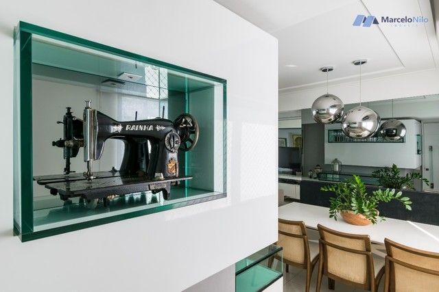Apartamento  nos Aflitos, 75m2, 3 quartos, 2 suítes, 2 vagas soltas e mobiliado - Foto 6