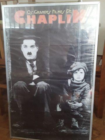 Coleção Chaplin Vídeo Cassete Quadros - Foto 5