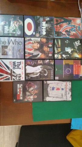 Coleção DVD The Who - 11 DVDs - Liquidando