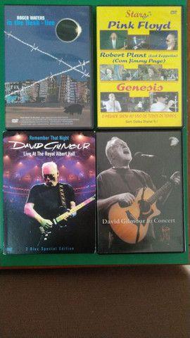 Barbada! 4 dvds Pink Floyd( 1 Roger Waters, 2 David Gilmour e 1 Banda Pink Floyd)