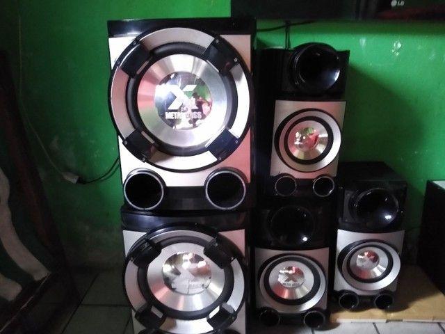Vendo caixas de som semi novo  - Foto 3