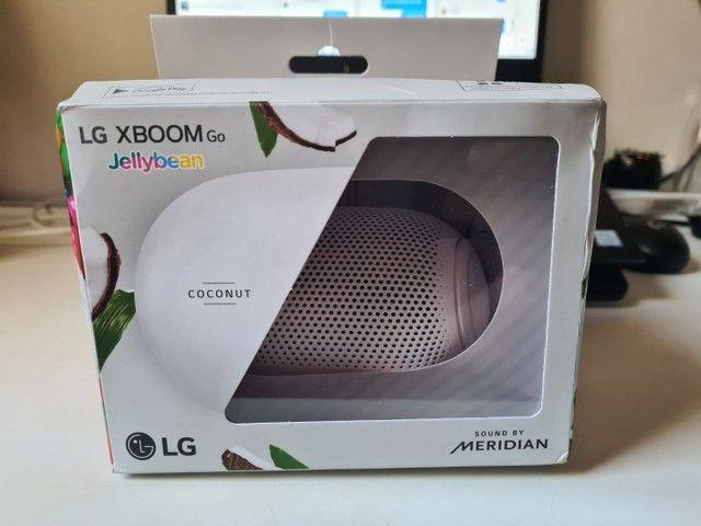 Caixa Bluetooth LG  x Meridian nova, com NF e Garantia.  - Foto 4