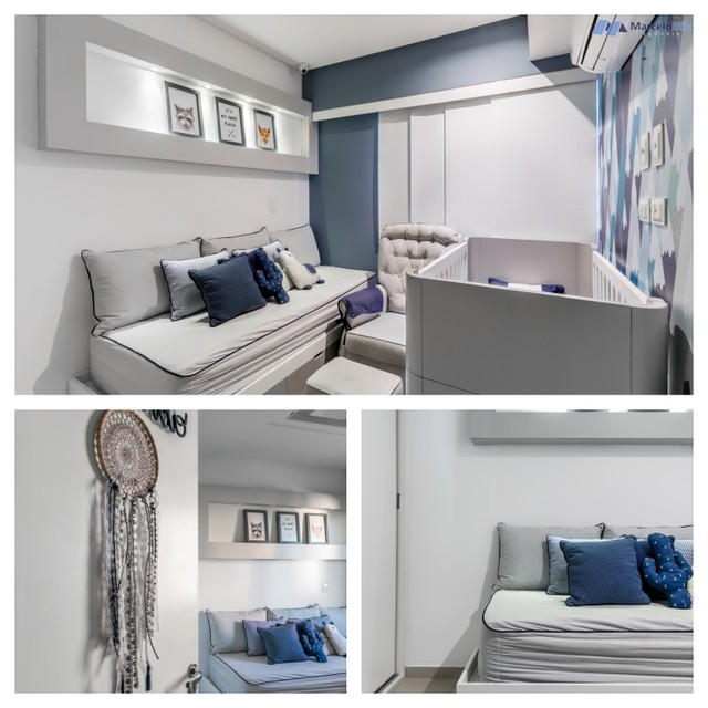 Apartamento  nos Aflitos, 75m2, 3 quartos, 2 suítes, 2 vagas soltas e mobiliado - Foto 15