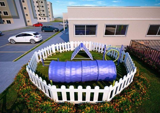  APO  Bairro Planejado Parque Mosaico  Apartamento de 2 Quartos C/ Varanda e Elevador - Foto 8
