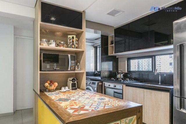 Apartamento  nos Aflitos, 75m2, 3 quartos, 2 suítes, 2 vagas soltas e mobiliado - Foto 9