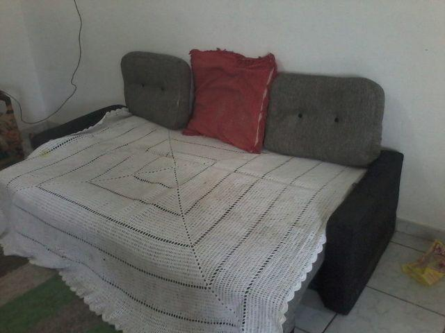 Sof cama semi novo m veis parque universitario for Olx sofa cama