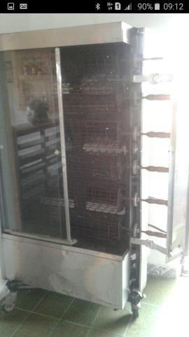 Máquina de assar frango de grade