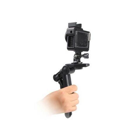 Mini Tripé Monopod Tripod Selfie Flexi Pod Câmera Adaptador Celular Smartphone - Foto 4