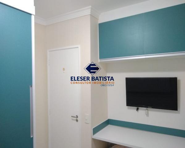 Apartamento à venda com 3 dormitórios em Residencial praças sauípe, Serra cod:AP00169 - Foto 13