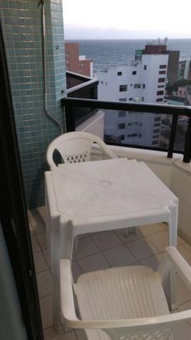 Aptº de 1/4 com varanda e vista mar na Barra - Foto 2