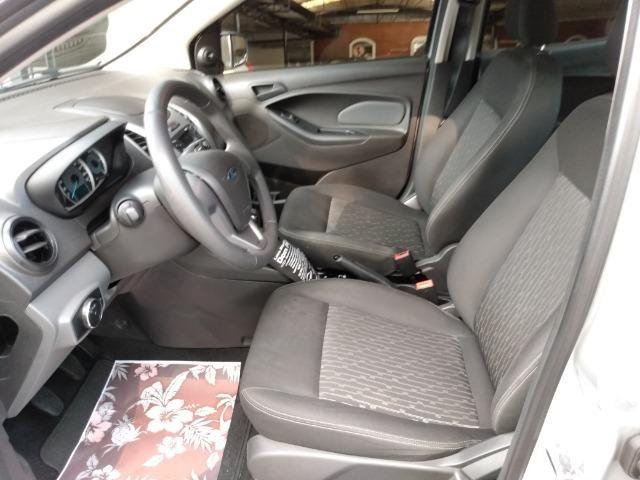 Ford Ka 1.0 SE prata - 2018 - Foto 7