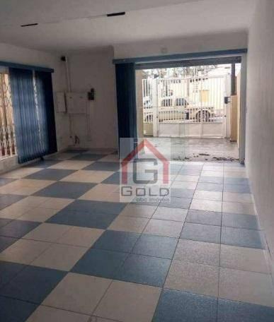 Sobrado com 4 dormitórios para alugar, 250 m² por R$ 4.500/mês - Campestre - Santo André/S