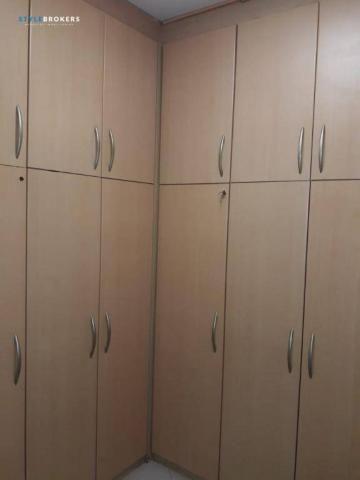 Apartamento no Edifício Caribe com 4 dormitórios à venda, 170 m² por R$ 320.000 - Baú - Cu - Foto 14