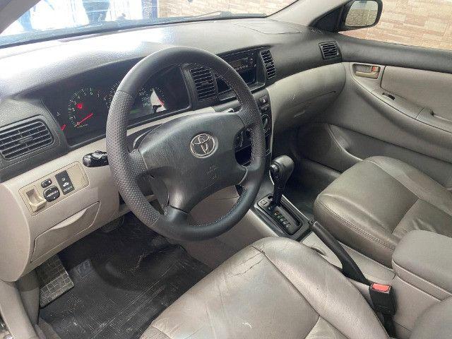 Toyota Corolla XEI Automatico + Couro 2005 - Foto 7