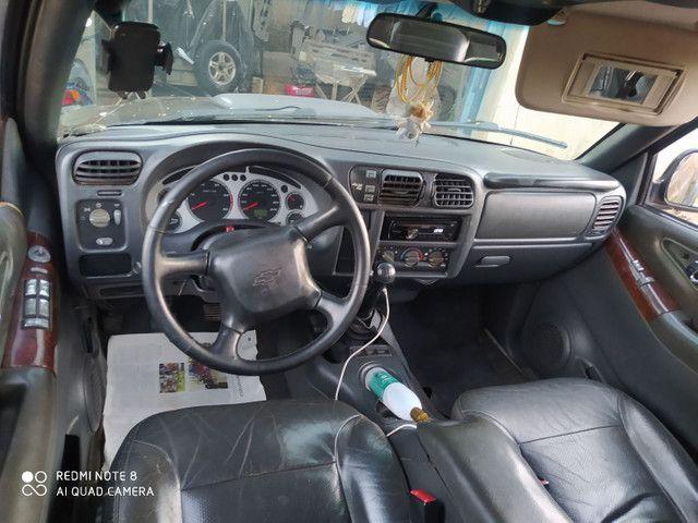 S10 4x4 executive ABS e erbege .motor interculada 2.8 MWM  diesel turbo . - Foto 17
