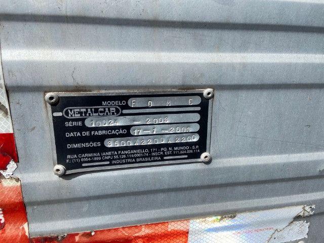 Baú para caminhão 3/4 3,50m fs caminhoes - Foto 7