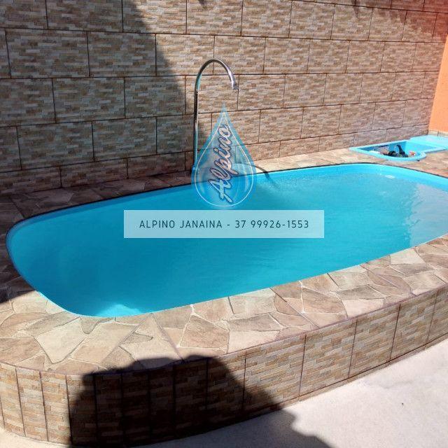 JA Promocao de piscina de fibra - Foto 5