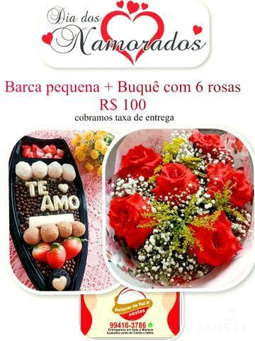 Rosas e chocolate ?