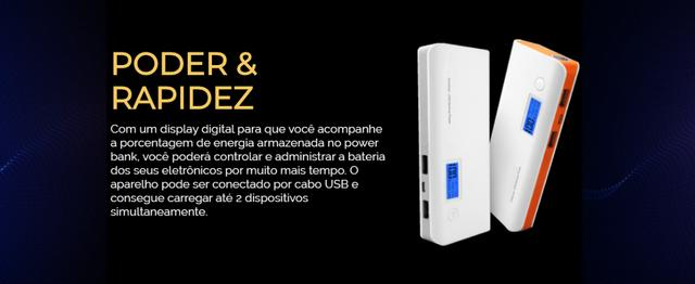 Carregador Portátil Power Bank - Foto 3
