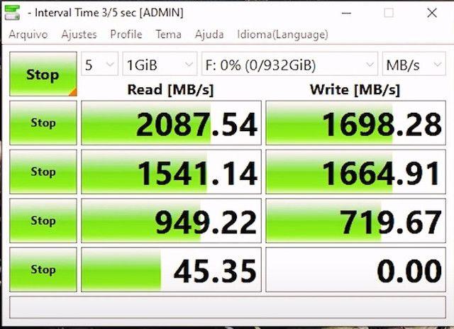 SSD M.2 Nvme - 256GB e 128GB - Foto 5
