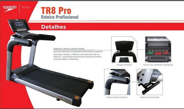 Esteira Profissional Speedo - TR8 Pro - Foto 3