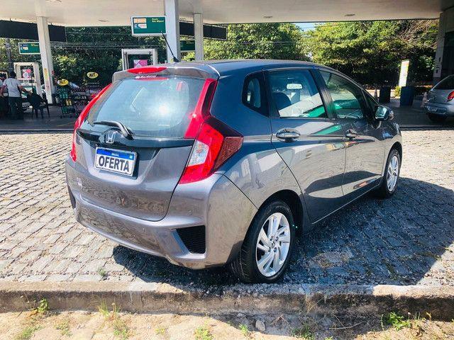 Honda Fit 2015 LX 1.5 Aut Único dono - Foto 5