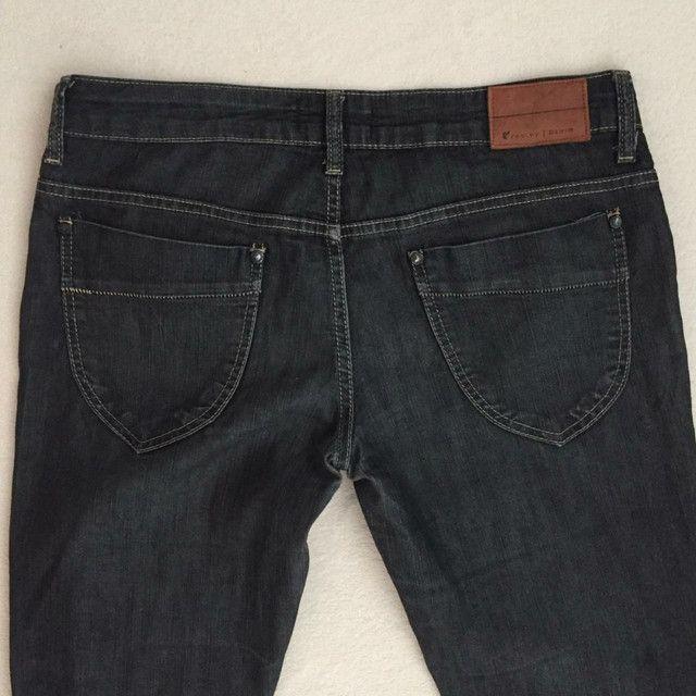 Calça jeans feminina Redley tamanho 42 - Foto 3