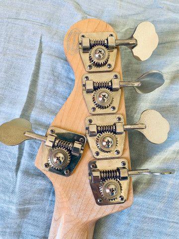 Vendo Baixo Custom Shop Music Maker BSS 5 - Foto 5