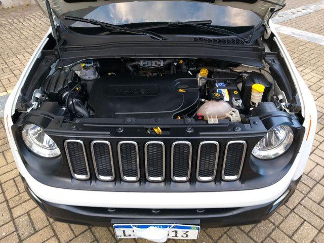 Jeep Renegade Sport TB Diesel 4x4 2.0 2016 AUTOM só 70km Top 9 marc Vist.21 Cartão 12x  - Foto 18