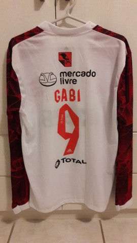 "Camisa Branca do flamengo TM G ""Gabi Gol"" - Foto 2"