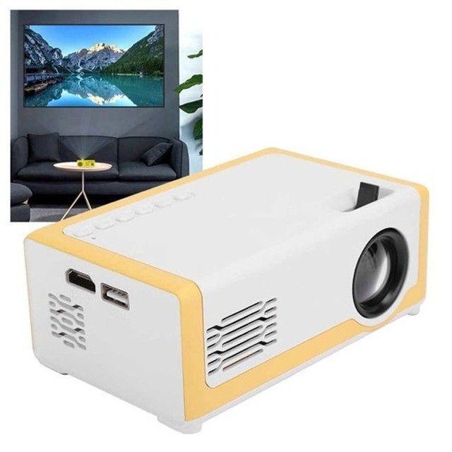 Mini Projetor M1 Portátil 1080p - Ideal Para Atividades Com os Filhos - 110-240V - Foto 5