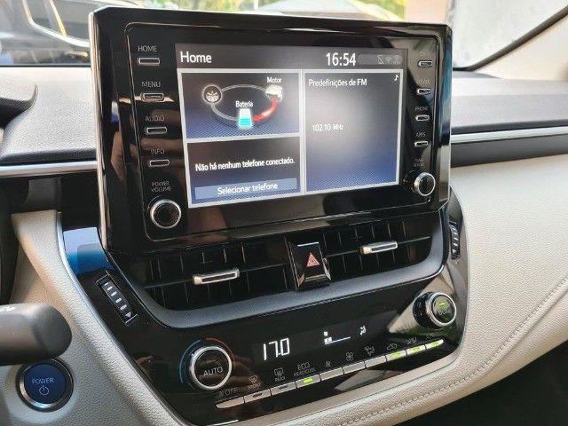 Toyota Corolla Altis Premium Hybrid, Blindado 3A, Apenas 11 mil km, Impecavel - Foto 5