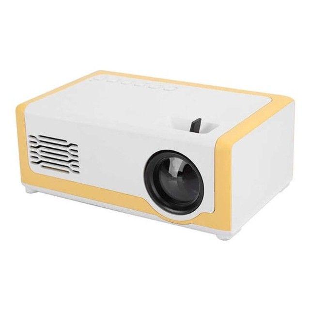 Mini Projetor M1 Portátil 1080p - Ideal Para Atividades Com os Filhos - 110-240V - Foto 6