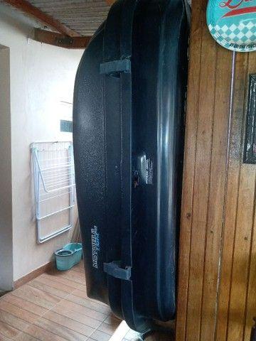 Vende-se um bagageiro dê teto 510 litros - Foto 3