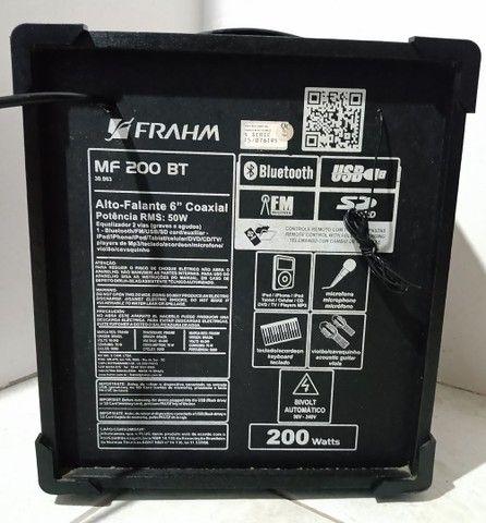 Caixa amplificada frahm 200wtts - Foto 3