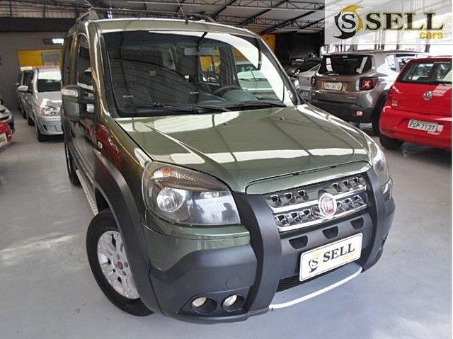 Fiat - Doblo Adventure Xingu 2013 Verde 6 Lugares Completo