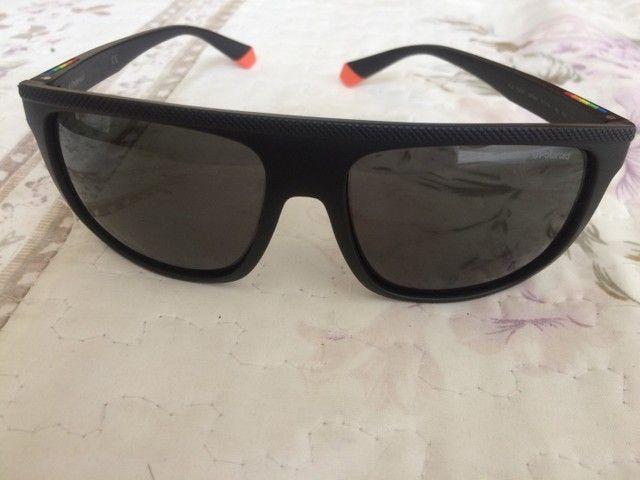 Óculos polaroid semi novo - Foto 4