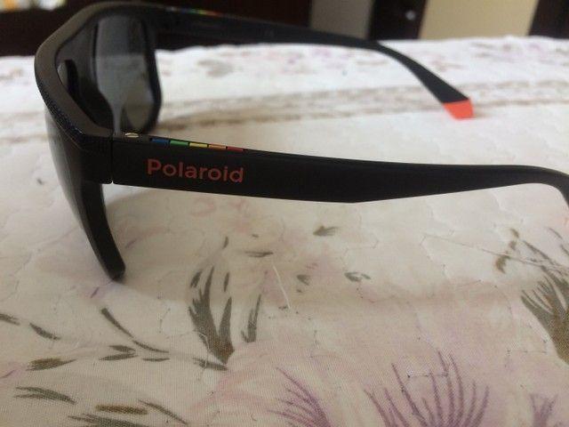 Óculos polaroid semi novo - Foto 3