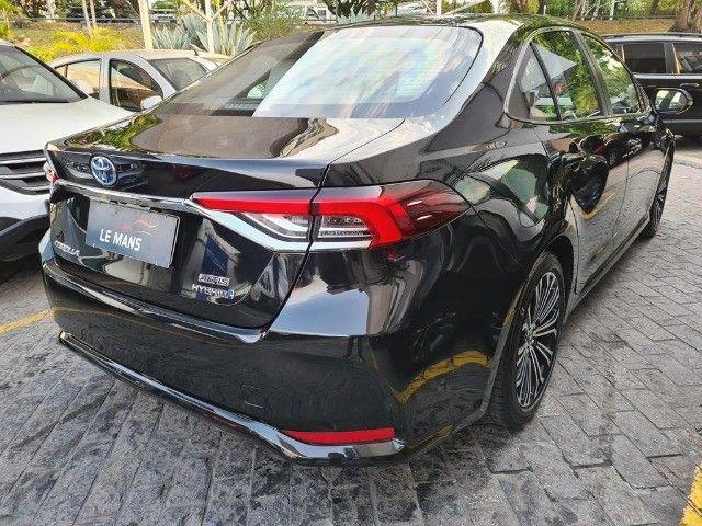 Toyota Corolla Altis Premium Hybrid, Blindado 3A, Apenas 11 mil km, Impecavel - Foto 8