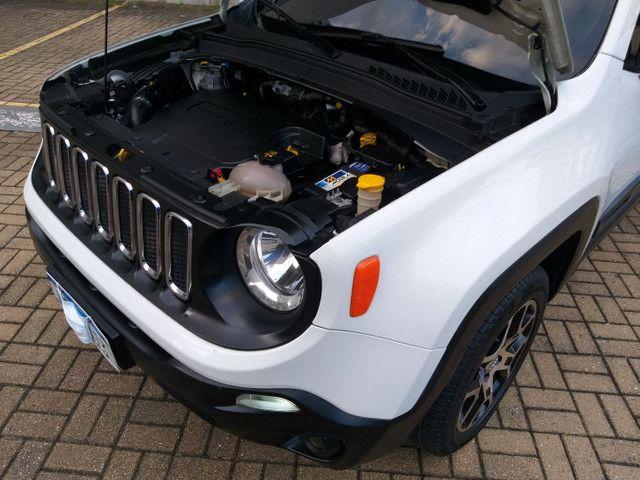 Jeep Renegade Sport TB Diesel 4x4 2.0 2016 AUTOM só 70km Top 9 marc Vist.21 Cartão 12x  - Foto 19