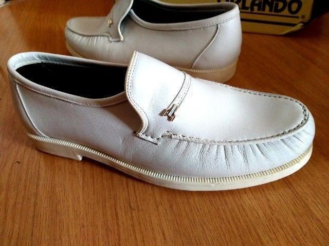 Sapato Branco 39 - Foto 2