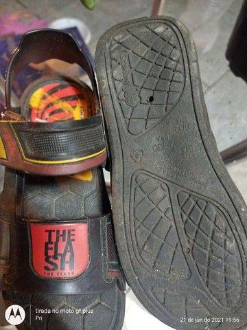 Sandália e chuteiras bem baratinhos - Foto 2