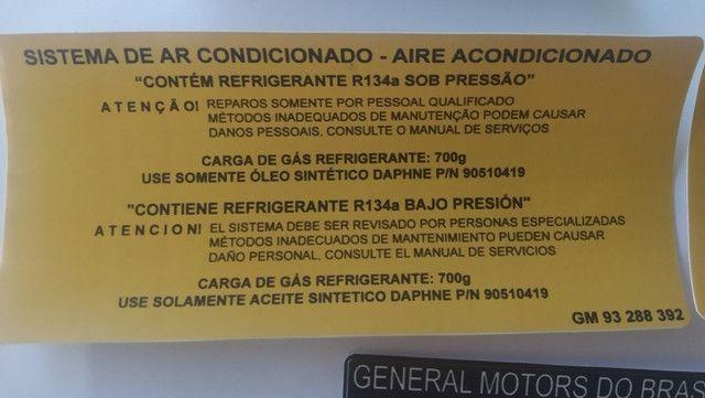 Etiquetas Painel Dianteiro Capô Novo Corsa Montana  - Foto 3