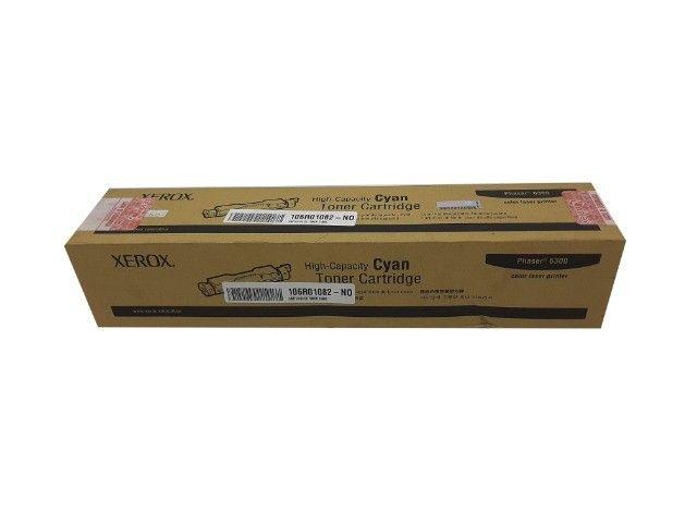 Toner Xerox 6300 / 106R01082 Cyan Original Novo - Foto 2